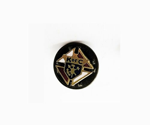 """Vintage Knights of Columbus Member Lapel Pin Tie Tack K of C 1/4"""" Excellent Cnd"""