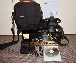 Nikon D3100 Digital SLR Camera, Excellent Condition Wanneroo Wanneroo Area Preview