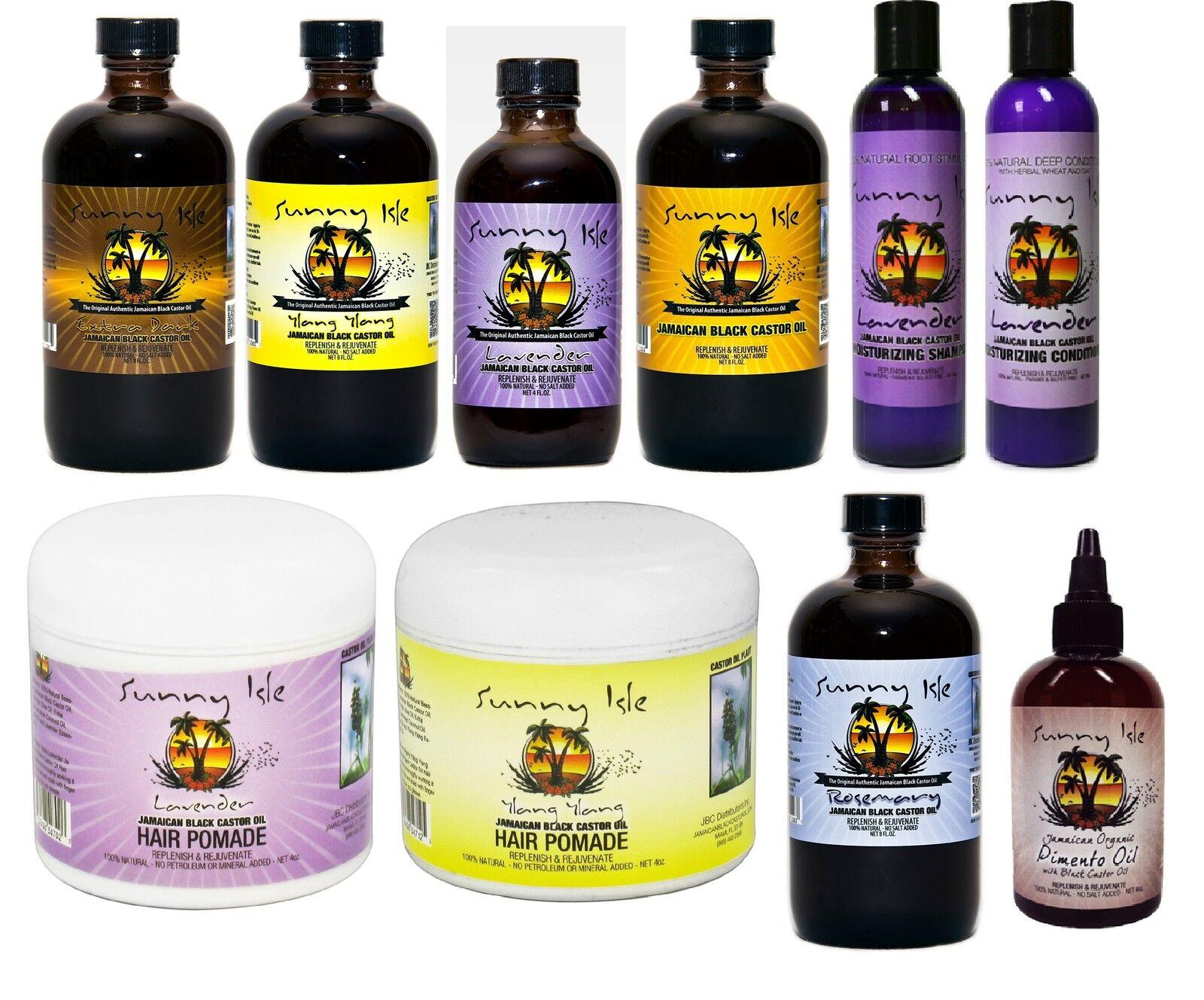 Sunny Isle Jamaican Black Castor Oil With FREE APPLICATOR