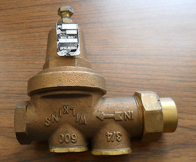 Zurn Wilkins 34 Pressure Reducing Valve 300 Psi Part Number Ht