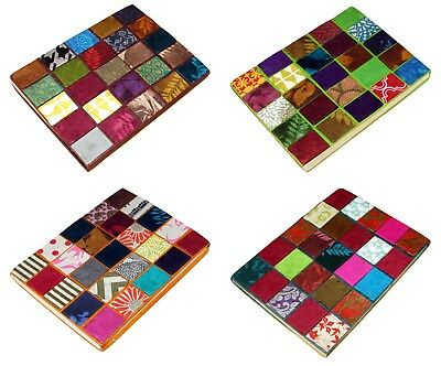 Nepalese Ethnic Handmade Paper Notebook Diary Journal Patchwork Note Book Mosaic