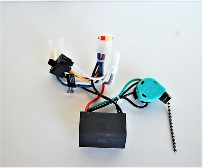 - HUNTER CEILING FAN NEW PARTS - WIRING HARNESS 03(CAPACITOR/REV.SW./POWER SWITCH)