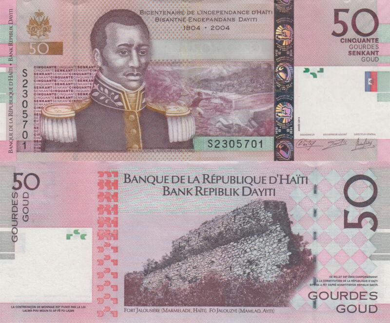 Haiti 50 Gourdes (2014) - p274e UNC