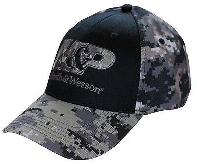 M&P by SMITH & WESSON *BLACK & URBAN DIGITAL CAMO* LOGO HAT CAP *BRAND NEW* MP12