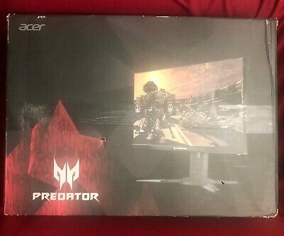 "Acer Predator XB272 27"" LED FHD 1080P 240Hz 1ms G-SYNC Gaming Monitor - Black"
