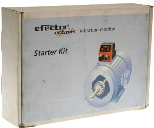 NEW IFM Electronic VE1002 Efector Octavis Vibration Monitor Starter Kit