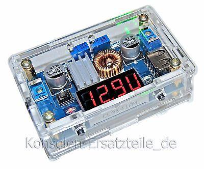 2 x Spannungsregler mit Gehäuse KSQ 36V/5A und DVM für Spannung, Strom, Leistung