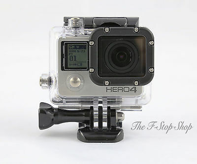 Underwater Waterproof Housing Case Gopro HD Hero 3 3+ 4 **New improved design**