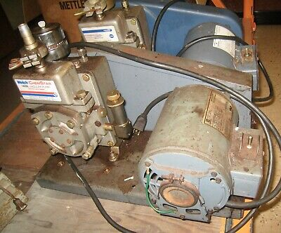 Welch Chemstar 1400n Vacuum Pump For Corrosive Gases