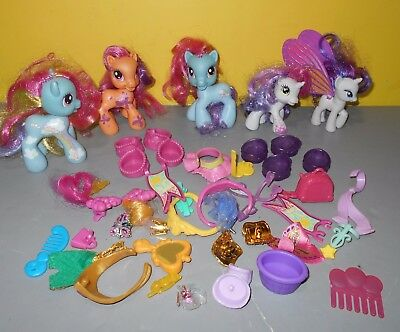 My Little Pony MLP Glimmer Wings Figure Rarity w/Rainbow Dash & Shoe - Rainbow Dash Shoes