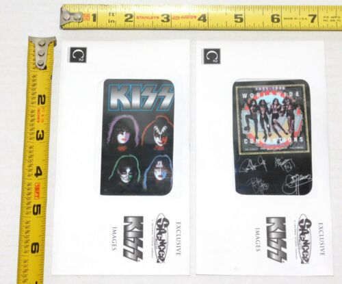 KISS Band 2pc Spencers Exclusive Sealed Phone Card Set Destroyer Solo Albums