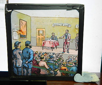 United Victorian Glass Magic Lantern Slide Military North West Frontier A3 Bx1 . Periods & Styles