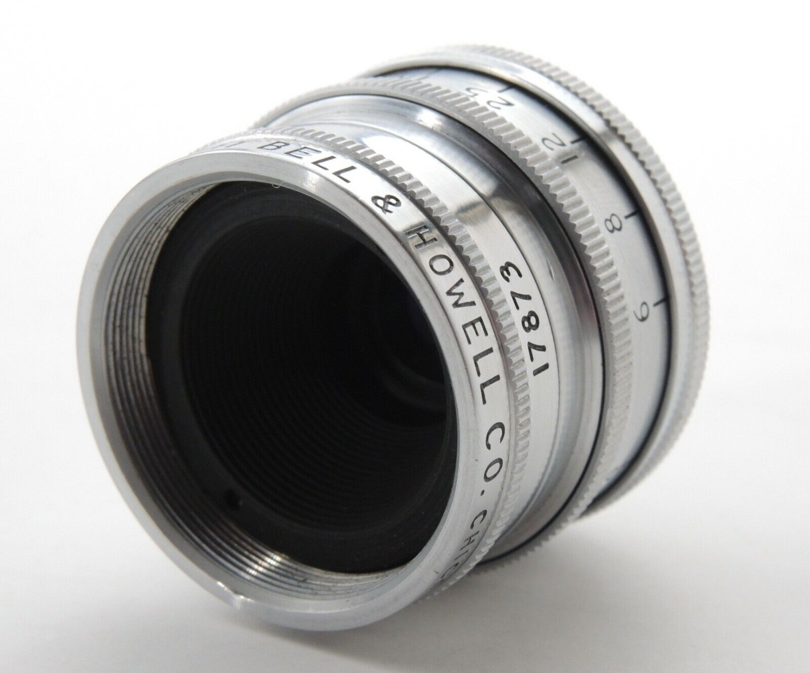 BELL HOWELL SUPER COMAT 0.7 INCH 17mm F2.5 C MOUNT LENS BOLEX COOKE ANGENIEUX - $29.99
