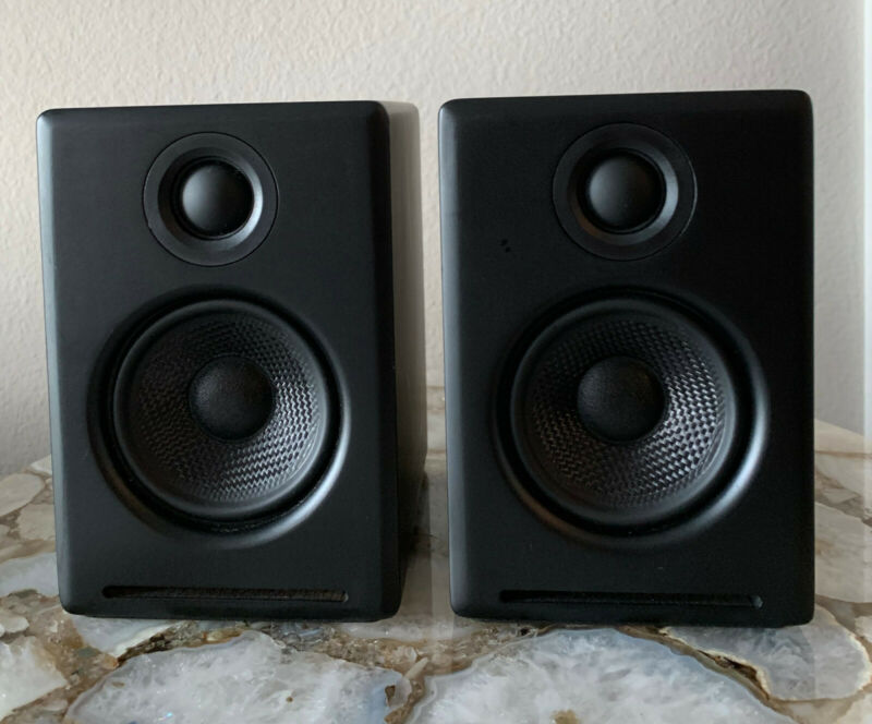 Audioengine A2 + Computer Speakers - Wired (Black)