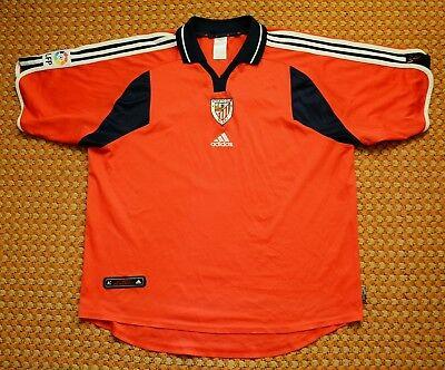 2000 - 2001 Athletic bilbao, Vintage Third Football Shirt by Adidas, Large - XL image