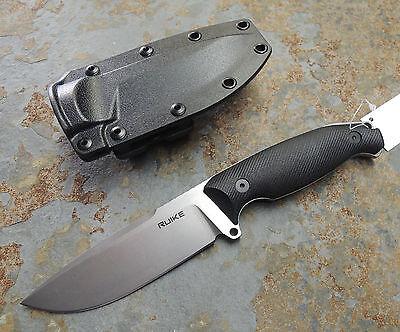 RUIKE Knives JAGER F118-B black Messer Fahrtenmesser 14C28N Stahl G10 Griff