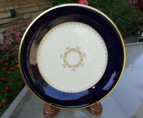 Pickard Washington Blue Gold Accent Salad Dessert Plate