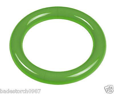 BECO TAUCHRING Farbe grün GLATTE FORM ca.135 gr. ohne Befüllen Tauchring