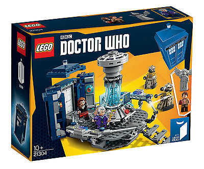 LEGO Ideas CUUSOO - Doctor Who - Doctor Who 21304 - New & Sealed