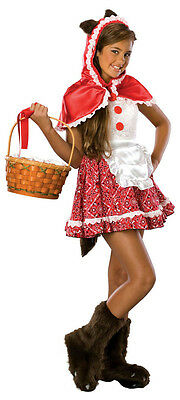 Rubies Drama Queens Little Red Riding Hood Girl Costume Size Teen Small 0-2](Teen Little Red Riding Hood Costume)