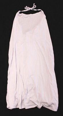 Boohoo Women's Plus Indea Halterneck Skater Dress BP4 White Size US:20 UK:24 NWT