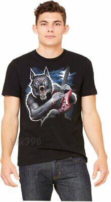 Halloween Horror Nights Werewolf (HALLOWEEN MONSTER WEREWOLF FULL MOON HORROR NIGHT ELECTRIC GUITAR S-2X BLACK)