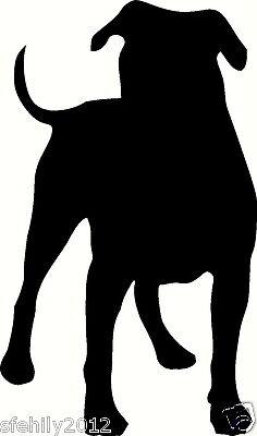 Alapaha blue blood bulldog Sticker dog breed vinyl decal car