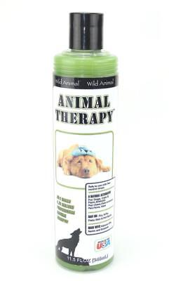 Wild Animal Animal Therapy Dog Shampoo-Medicated-Repels Fleas,Ticks,Mites-11.7oz