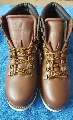 Men's Firetrap 'Justin Boot' Brown Boots Size UK 8.5 New With Tag
