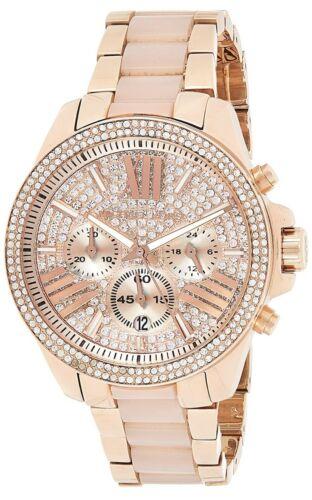 Michael Kors Luxury Watches Rose Gold Tone Women's Watch MK6096 Jewelry & Watches