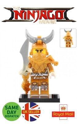 Ninjago Lego Mini Figure Master Of The Golden Dragon Ninja Gold Uk Seller