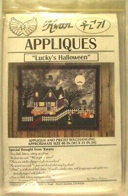 Halloween Wall Hanging Patterns (