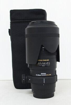 Sigma DG 70-200mm f/2.8 APO HSM EX DG OS Lens For Canon