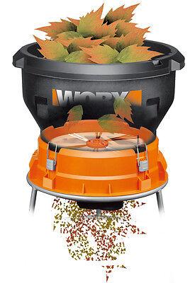 WG430 WORX 13-amp Electric Leaf Mulcher Shredder