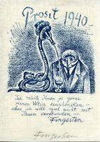 Fingesten Michele, Prosit 1940, Pf Per L'artista Stesso, Firmato, Rarissimo -  - ebay.it