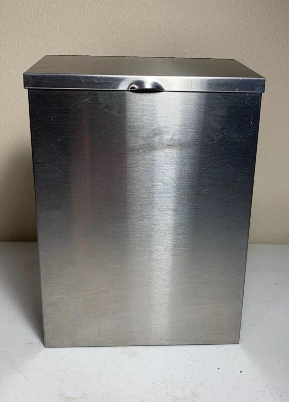 Bobrick Stainless Steel Sanitary Napkin Receptacle