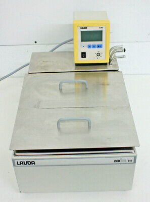 Lauda E200 Heated Immersion Circulator W Ecoline 019 Water Bath