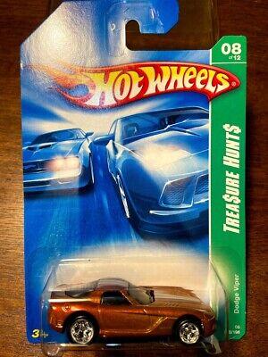 HOT WHEELS 2008 SUPER TREASURE HUNT DODGE VIPER #08/12 GOLD