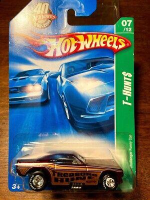 Hot Wheels 2008 SUPER TREASURE HUNT DODGE CHALLENGER FUNNY CAR