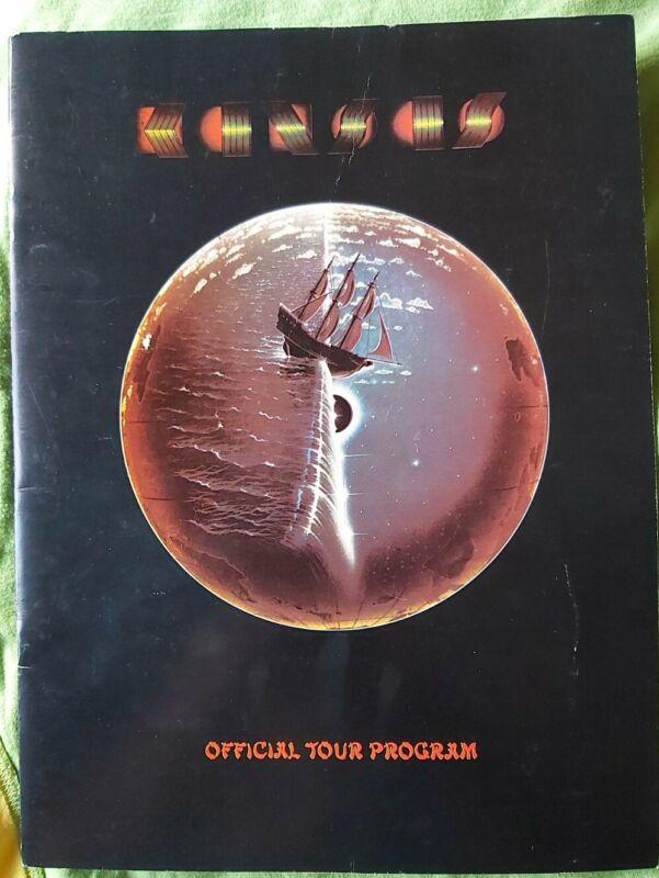 KANSAS  1978 Offical Tour Program, V.G.Condition