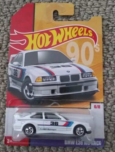 2019 Hot Wheels Throwback Series Target Exclusive #6 BMW E36
