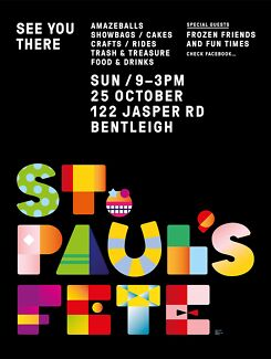 St. Paul's Primary School Bentleigh Fete Bentleigh Glen Eira Area Preview