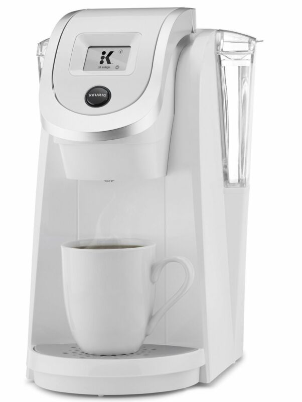 "Keurig K250 Coffee Maker with Strength Control & 2"" Touchscreen Display in White"