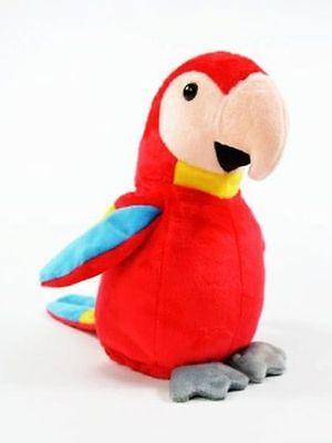 Labertier Sprechender Papagei Vogel Chatter Laber parrot plappert alles nach Neu