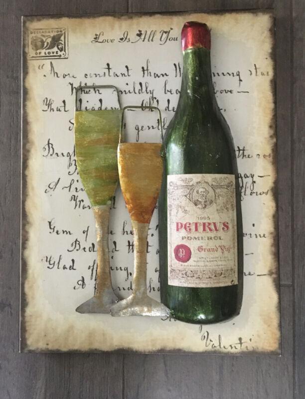 Petrus Wine Metal Sign