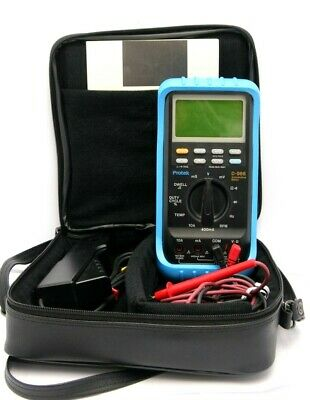 Protek D-988 Automotive Multi-meter With Protek Pu-988 Inductive Pick Up Tester