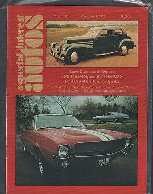 Special Interest Autos August 1979 1933 Hcm Special 1968 Amx Ex 122615Jhe