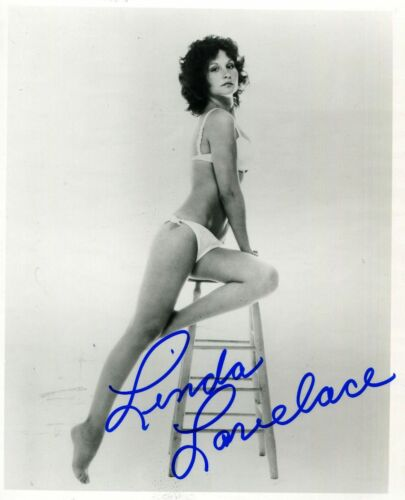LINDA-LOVELACE Autographed Signed 8x10 Photo Reprint