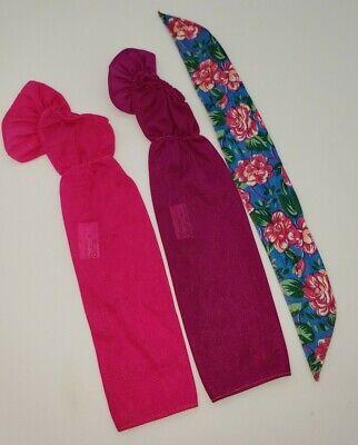 Vintage Barbie 1987 Pretty Choices #4125 Pink Purple Floral Wrap Variation