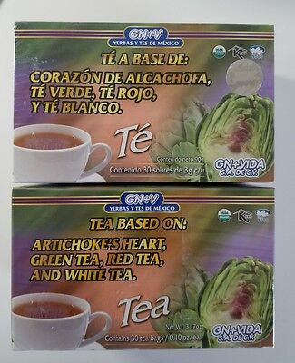2 Pack Te Alcachofa Gn Vida   Original
